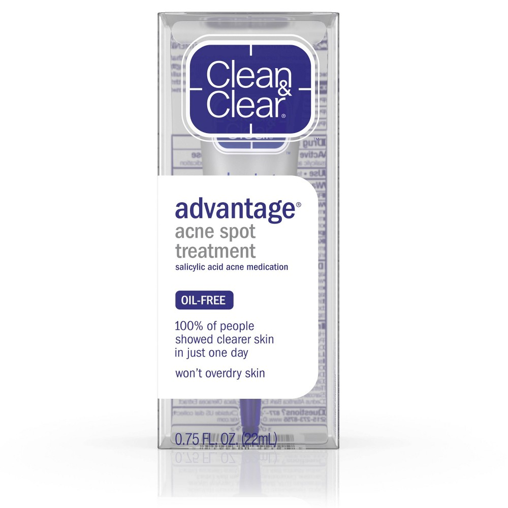 Image of Clean & Clear Advantage Spot Treatment with Witch Hazel - .75 fl oz