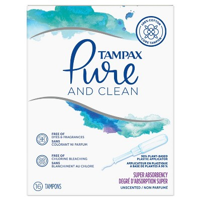 Tampons: Tampax Pure & Clean