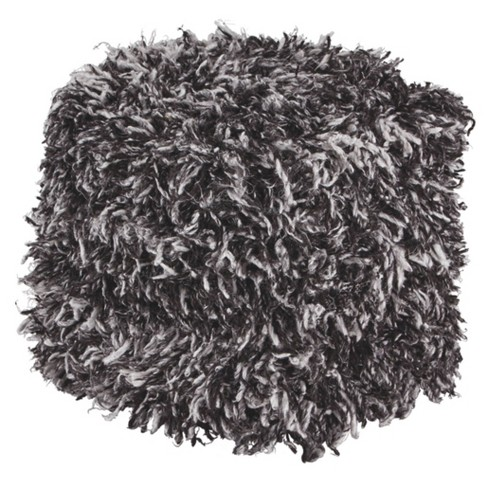 Gelsey Pouf Black/White - Signature Design by Ashley - image 1 of 3