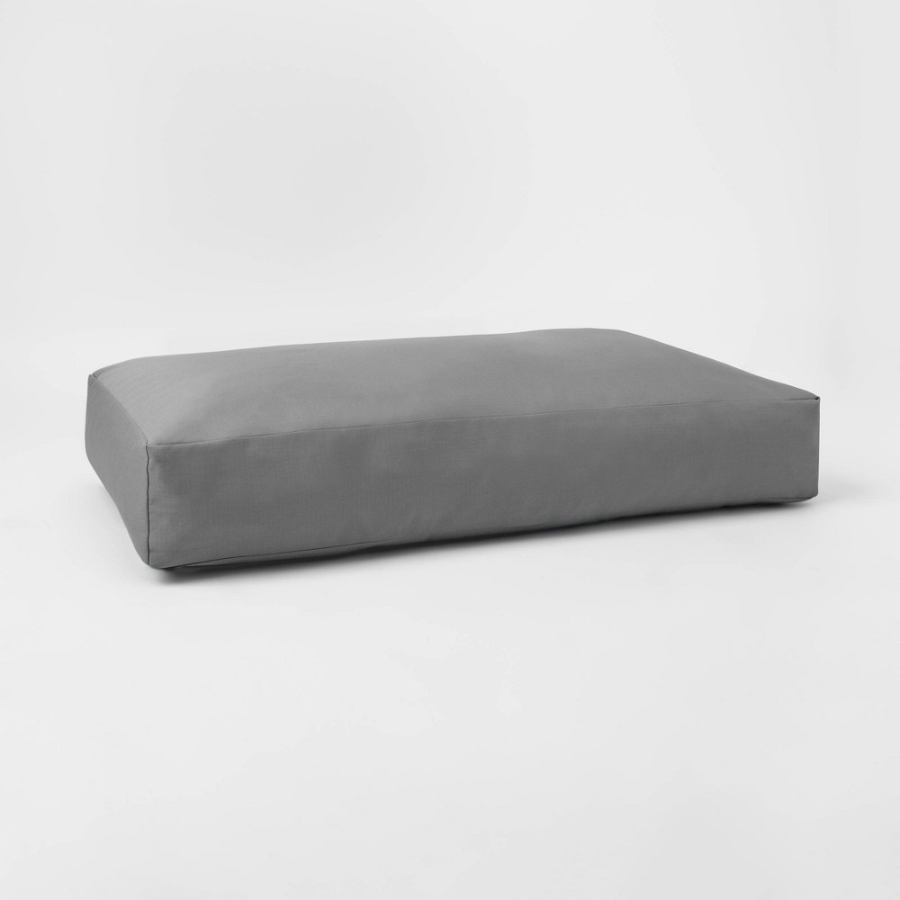 Image of Sensory-Friendly Water-Resistant Crash Pad with Machine-Washable Cover Gray - Pillowfort