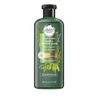 Herbal Essences bio:renew Hemp + Potent Aloe Sulfate Free Shampoo Frizz Control - 13.5 fl oz