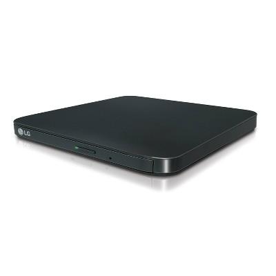 LG Portable External DVD/RW Drive - Black (SP80)