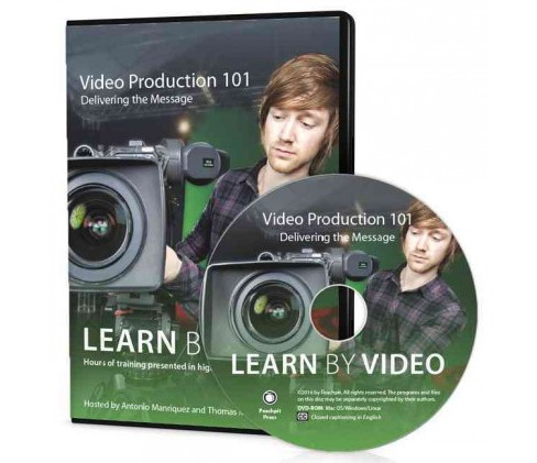 Video Production 101 : Learn by Video: Delivering the Message (Hardcover) (Antonio Manriques & Thomas - image 1 of 1
