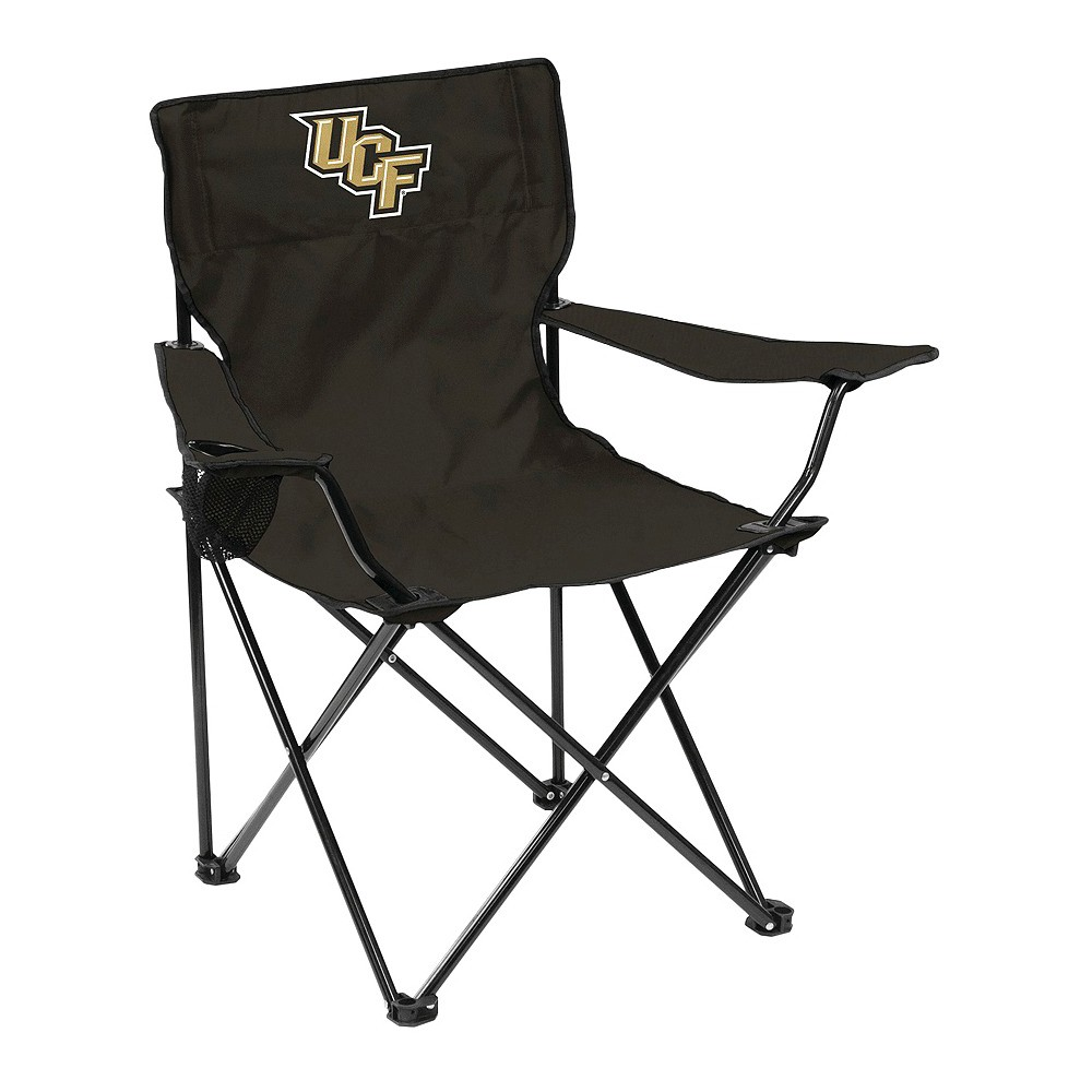 NCAA Ucf Knights Logo BrandsQuad Folding Camp Chair with Carrying Case