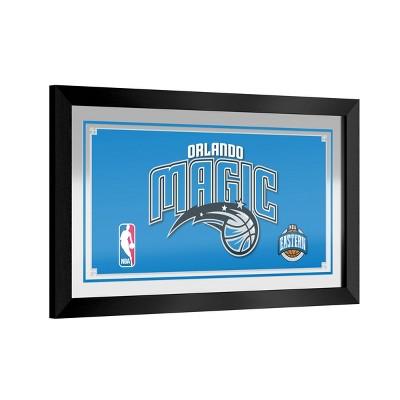 NBA Orlando Magic Team Logo Wall Mirror
