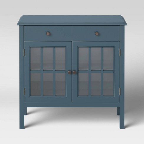 Windham 2 Door Cabinet with Drawers - Threshold™ - image 1 of 3