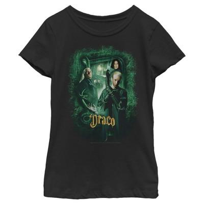 Girl's Harry Potter Chamber Of Secrets Draco Portrait T-Shirt
