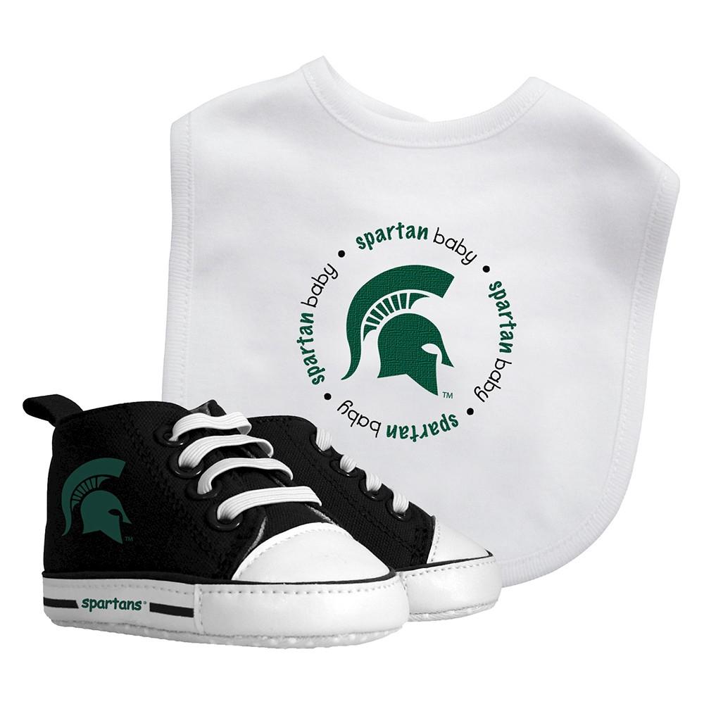 NCAA Michigan State Spartans Bib Set