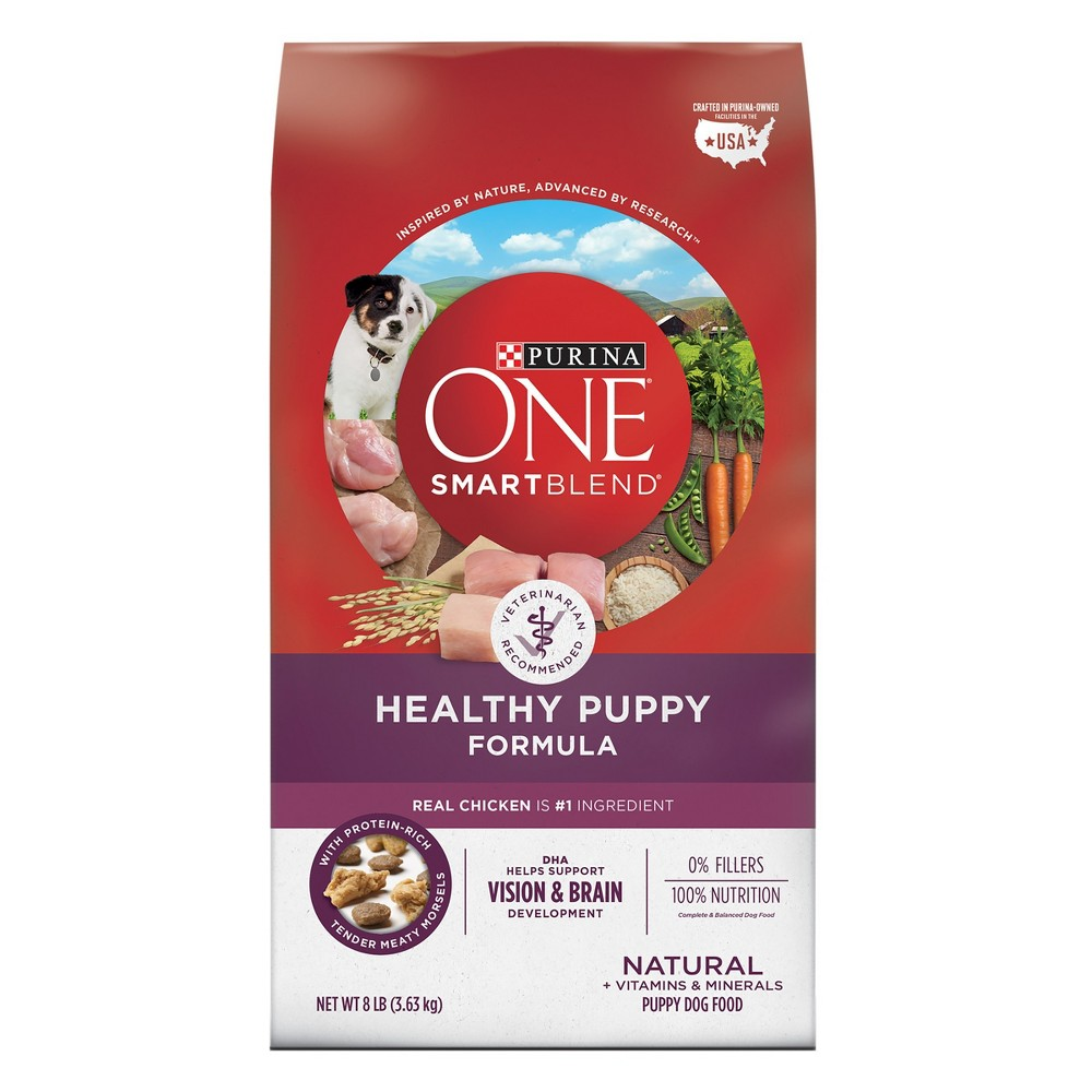 Purina One SmartBlend Healthy Puppy Formula Puppy Premium Dry Dog Food - 8lb bag