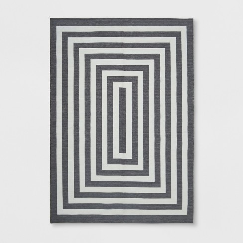 Mitre Stripe Outdoor Rug - Project 62