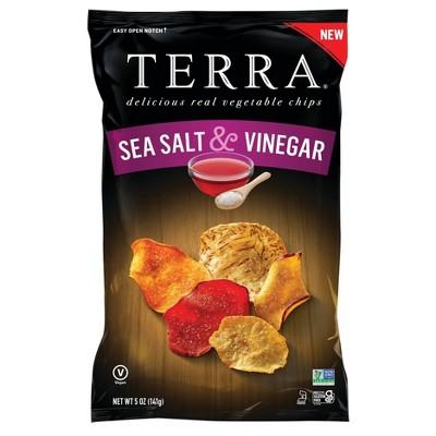 Terra Salt & Vinegar Chips - 5oz