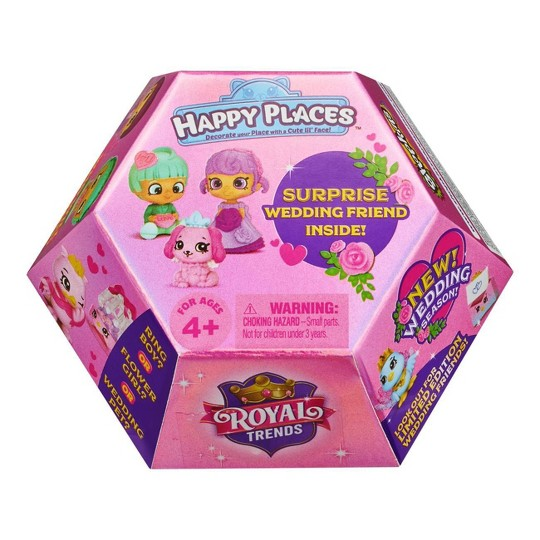 Happy Places Shopkins Royal Trends Wedding Surprise Pack image number null