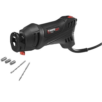 Dremel MM35-01 Versatile Multi Max 3.5 Amp Oscillating Tool Kit with Drywall Jab Saw, Wood and Metal Flush Cut Blade, and Hood and Loop Pad with Bag