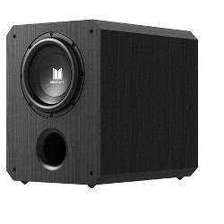 Monolith 10 Inch Powered Subwoofer - Black | THX Select Certified, 500 Watt Amplifier, 10 Inch Driver For Studio & Home Theater