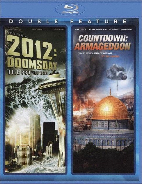 2012: Doomsday/Countdown: Armageddon [Blu-ray] - image 1 of 1