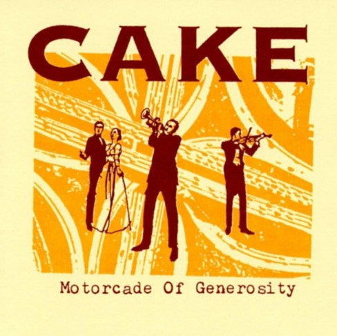 Cake - Motorcade of generosity (CD) - image 1 of 1