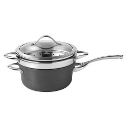 Calphalon Contemporary 4.5 Quart Non-stick Dishwasher Safe Steamer with Insert and Cover