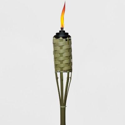 TIKI Luau Bamboo Torch - Tan