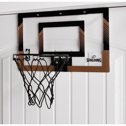 Spalding NBA Slam Jam Over-The-Door Black   Gold Edition Basketball Hoop    Target 1e1a48d086