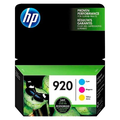 HP 920 Single & 3pk Ink Cartridges - Black, Multicolor - image 1 of 1