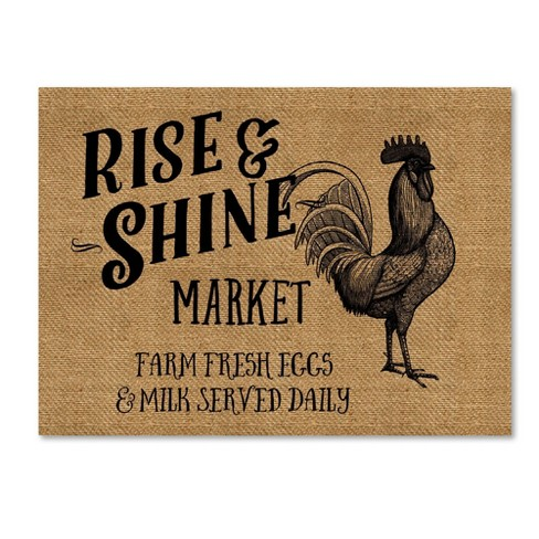 Marcee Duggar Rise And Shine Market Unframed Wall Canvas Art - image 1 of 3