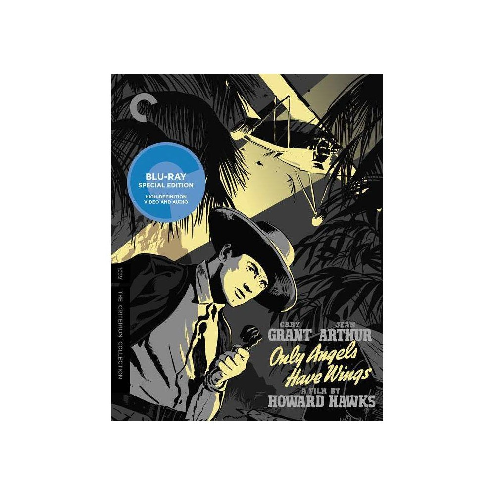 Only Angels Have Wings Blu Ray