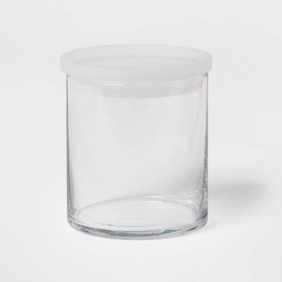 22oz Glass Medium Stackable Jar with Plastic Lid - Made By Design™