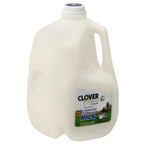 Clover Organic Farms 2% Milk - 1gal - image 1 of 1