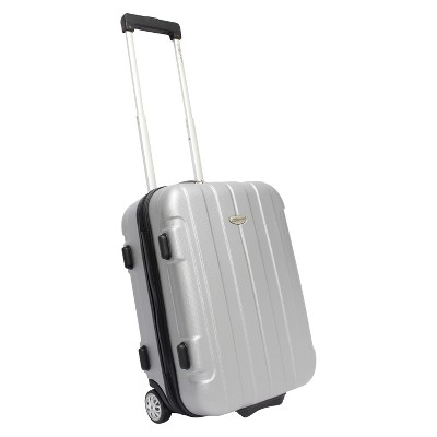 Traveler's Choice Rome 21  Carry On Suitcase - Silver