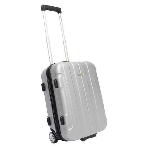 "Traveler's Choice Rome 21"" Carry On Luggage - Silver - image 1 of 4"