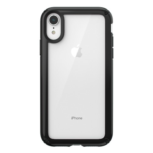 finest selection 4edeb 39817 Speck Apple iPhone XR Presidio Case - Clear/Black