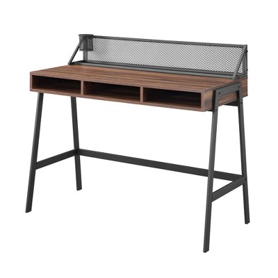 City Chic Urban Industrial Writing Workstation Desk - Saracina Home