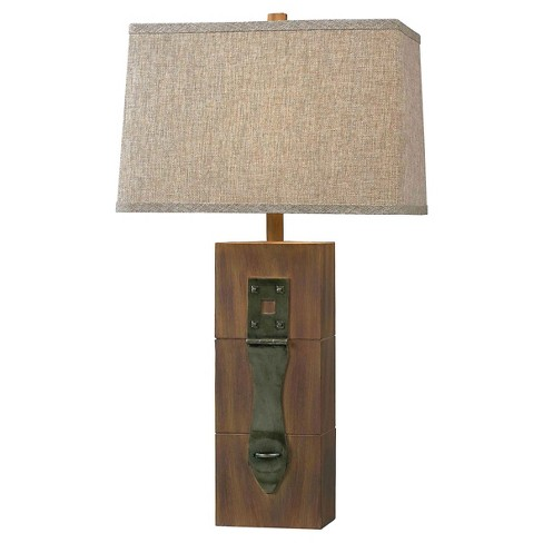 Kenroy Home Table Lamp - Antique Wood - image 1 of 2