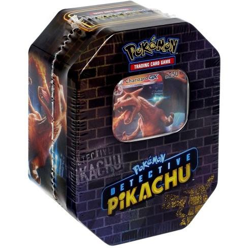 Pokemon Detective Pikachu Tin Set Charizard Target