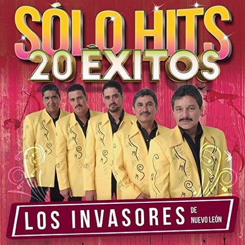 Los Invasores De Nue - Solo Hits 20 Exitos (CD) - image 1 of 1
