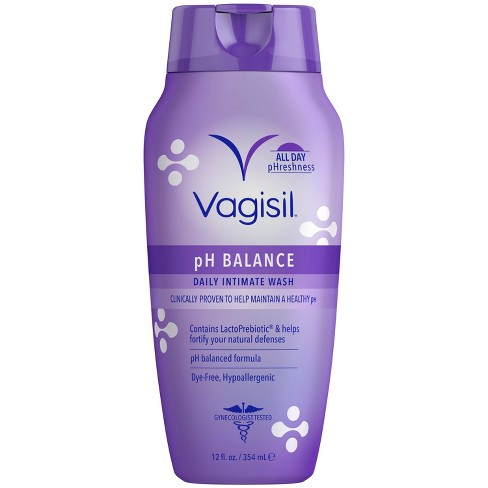 Vagisil pH Balanced Daily Intimate Feminine Wash for Women - 12oz - image 1 of 4