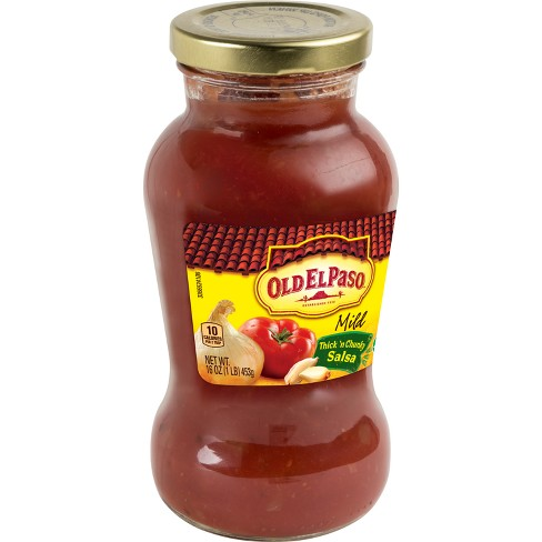 Old El Paso Mild Thick 'n Chunky Salsa - 16oz - image 1 of 3
