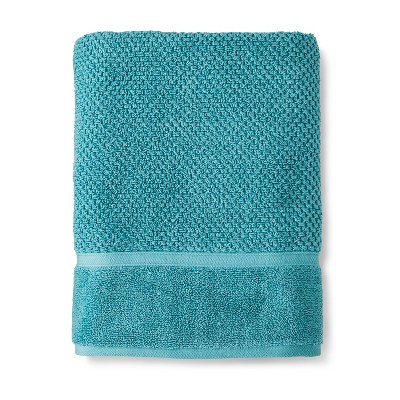 Performance Texture Bath Towel Turquoise - Threshold™