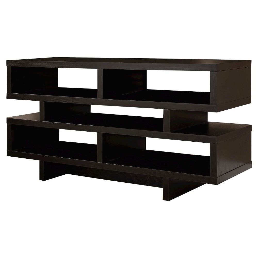 TV Stand - Cappuccino (48) - EveryRoom, Wood