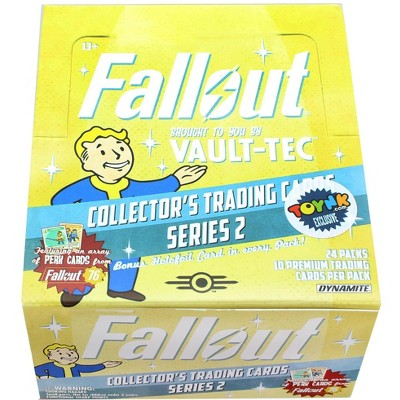 Dynamite Entertainment Fallout Trading Cards Series 2 | Sealed Hobby Box | Contains 24 Unopened Packs