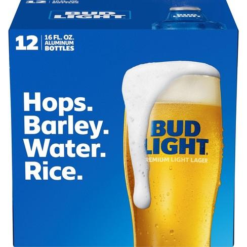 Bud Light Beer - 12pk/16 fl oz Aluminum Bottles - image 1 of 1