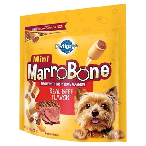 pedigree marrobone toy small beef flavor treat 15oz target