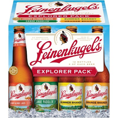 Leinenkugel's Explorer Variety Beer Pack - 12pk/12 fl oz Bottles