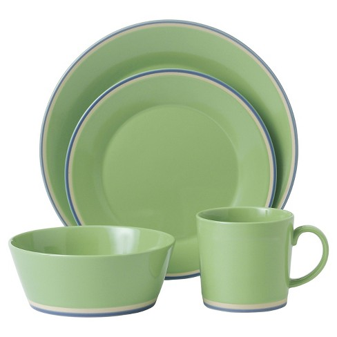 Royal Doulton® Colours 4pc Dinnerware Set Green - image 1 of 1