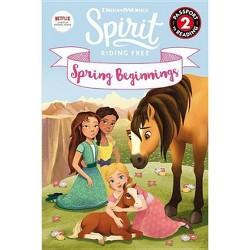 Spirit Riding Free: Spring Beginnings - (Passport to Reading Level 2) by R J Cregg (Paperback)
