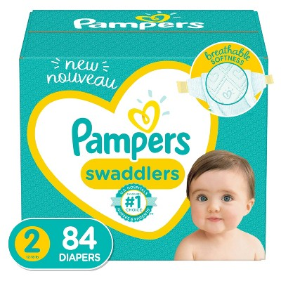 Pampers Swaddlers Diapers - Size 2 - 84ct
