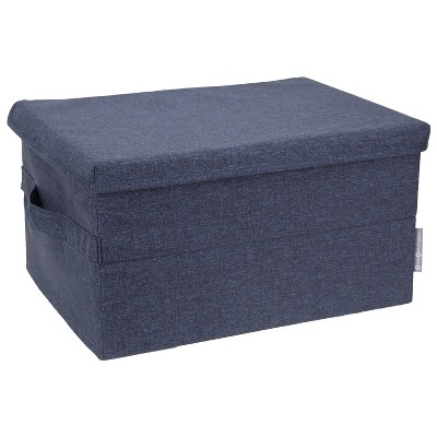Bigso Box of Sweden Large Soft Storage Box Navy
