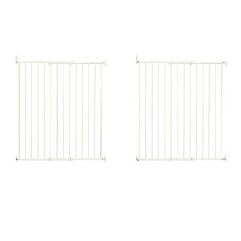 "Scandinavian Pet Design Streamline Extra Tall 42"" Pet Gate, White (2 Pack) - image 1 of 4"
