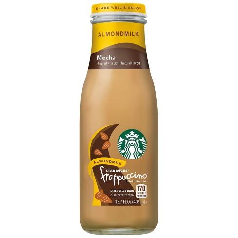 Starbucks Almondmilk Frappuccino Mocha 13 7 Fl Oz Glass Bottle