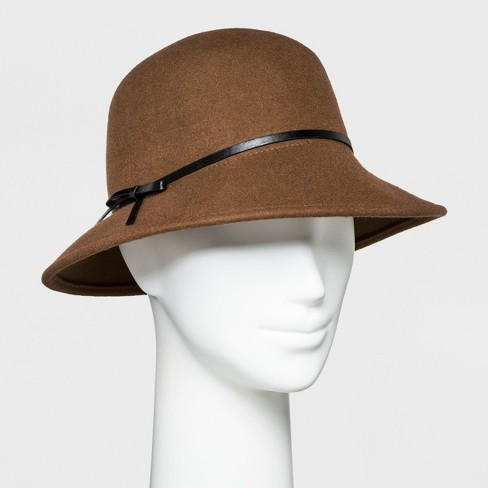 257bf828363 Women s Trench Faux Suede Fashion Hat - A New Day™   Target
